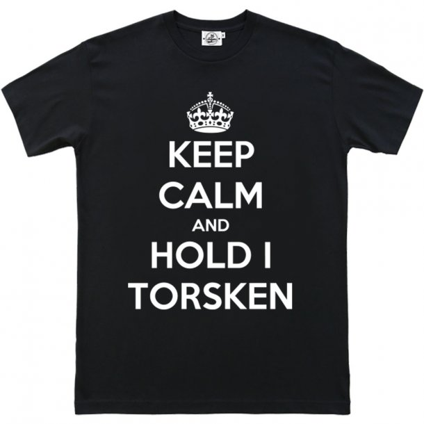 Keep Calm and hold torsken