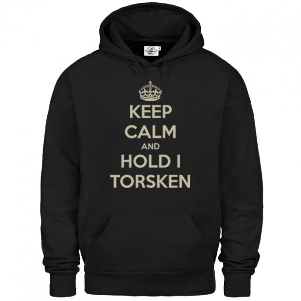 Keep Calm and Hold torsken - Hettegenser